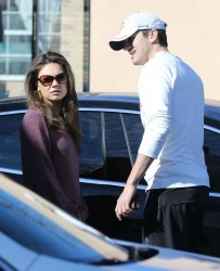 Mila Kunis - out in Studio City 1/18/14