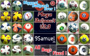 PES 2014 Mega Ballpack v2.0 by Samuel Cannavaro