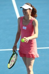 Martina Hingis - 2014 Australian Open in Melbourne 1/19/14