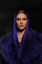 Karlie Kloss - Atelier Versace fashion show in Paris 1/19/14