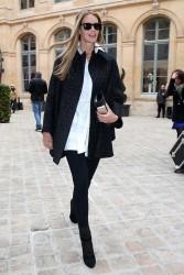 Elle Macpherson - Schiaparelli fashion show in Paris 1/20/14