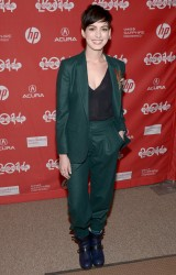 "Anne Hathaway - ""Song One"" Premiere at the 2014 Sundance Film Festival 1/20/14"