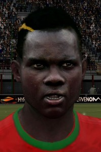 FIFA 14 Bruma Face by Danielxz