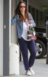 Minka Kelly - out in LA 1/21/14