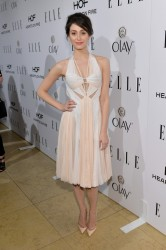 Emmy Rossum - ELLE's Annual Women in Television Celebration in West Hollywood 1/22/14