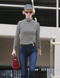January Jones - out in West Hollywood 1/24/14