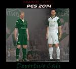 Download PES 2014 Kits Set Pack 13-14 by David [26.01]