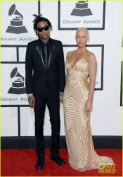 Amber Rose - 56th GRAMMY Awards in LA 1/26/14