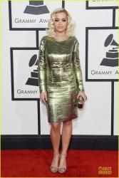 Rita Ora - 56th GRAMMY Awards in LA 1/26/14