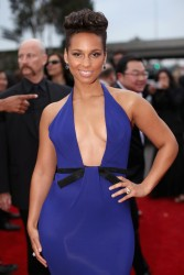 Alicia Keys - 56th GRAMMY Awards in LA 1/26/14