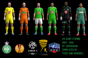 PES 2013 AS Saint-Etienne 2013-2014 Kits