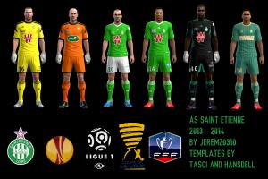 PES 2013 AS Saint-Etienne 2013-2014 Kits