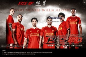 Download PES 2013 Liverpool Start Screen by No Doong