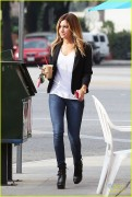 Ashley Tisdale - Out in Toluca Lake 1/28/14