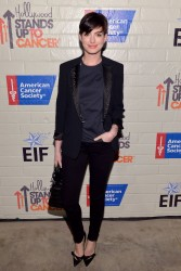 Anne Hathaway -  Hollywood Stands Up To Cancer Event 1/28/14