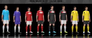 Download Real Murcia 2013-14 GDB Set by Txak