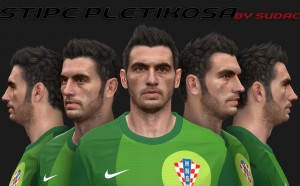 Download Stipe Pletikosa Face by Sudac