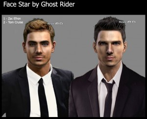 Face Star v.2 by Ghost Rider