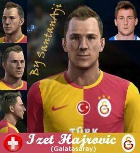 Download Izet Hajrovic Face By santanAji