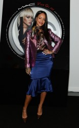 Rihanna - MAC Cosmetics Launches Viva Glam Rihanna in NYC 1/29/14
