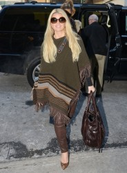 Jessica Simpson - Out in NYC 1/30/14