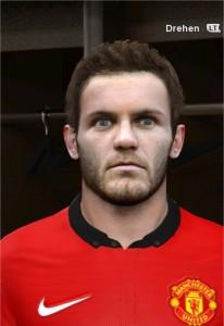 Download Juan Mata Face by rednik