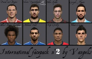 Download PES2014 International facepack n°2 by Vangelis