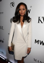 Selita Ebanks - KWL's 4th Annual Sports & Entertainment Celebration in NYC 1/30/14