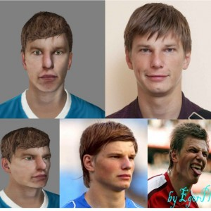 Download Andrey Arshavin Face by EgorPl