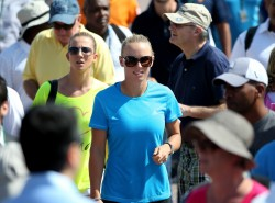 Caroline Wozniacki - 2014 Omega Dubai Desert Classic 1/30/14