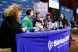 Whitney Cummings -  SiriusXM at Super Bowl XLVIII Radio Row in NYC 1/31/14