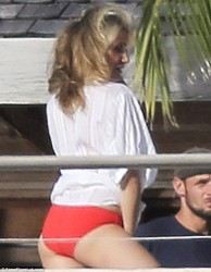Cameron Diaz - Vogue photoshoot in St.Barts 1/31/14