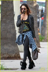 Vanessa Hudgens - Out in LA 1/31/14