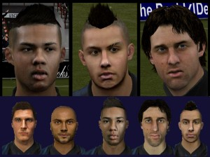 FIFA 14 Inter Faces by Daniel_xz