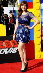 Sara Rue - 'The LEGO Movie' premiere in Westwood 2/1/14