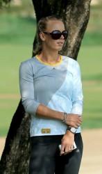 Caroline Wozniacki - 2014 Omega Dubai Desert Classic 2/2/14