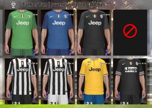 Download Juventus 2013-2014 GDB Kits by Tamer Tan