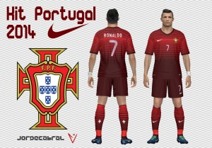 Download Portugal World Cup 2014 Kits by Jorgecabral