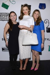 Miranda Kerr - at the ShopStyle Launch in NYC 2/3/14