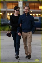 Anne Hathaway - out in West Hollywood 2/3/14