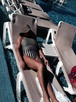 Jeanine Pirro - Bathing suit pic from Facebook x1
