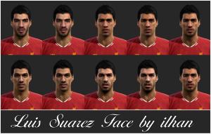 Download L. Suarez Facepack by ilhan