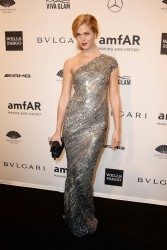 Erin Heatherton - 2014 amfAR New York Gala 2/5/14