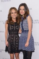 Giada De Laurentiis & Phoebe Tonkin - BCBGMAXAZRIA fashion show in NYC 2/6/14