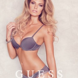 Samantha Hoopes - Guess Lingerie Campaign