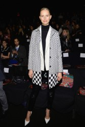 Karolina Kurkova - Desigual F/W 2014 Fashion Show in NYC 2/6/14