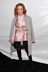 Alyssa Milano - Marissa Webb F/W 2014 Fashion Show in NYC 2/6/14