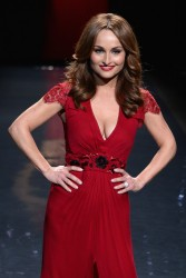 Giada De Laurentiis - Go Red for Women Show in NYC 2/6/14
