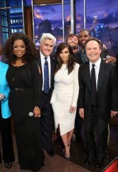 Kim Kardashian - On the final episode of 'The Tonight Show with Jay Leno' 2/6/14