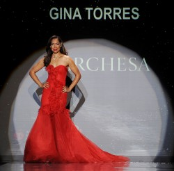 Gina Torres - Heart Truth Red Dress Collection - Feb 6, 2014